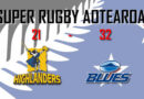 SUPER RUGBY AOTEAROA: GANÓ BLUES Y SIGUE CON CHANCES