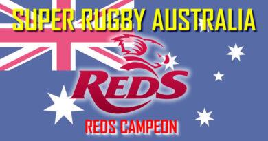 SR AUSTRALIA: REDS CAMPEÓN